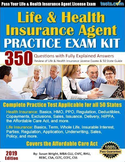 You should also ask for a list of providers for the education and testing requirements. Life & Health Insurance Agent Practice Exam exam free life insurance.   Life and health ...