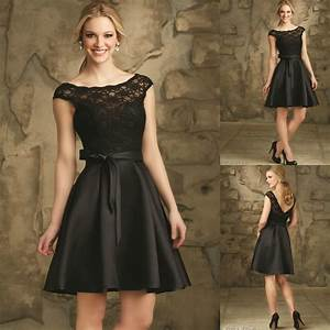 elegant black bridesmaid dresses black vintage bridesmaid With elegant black wedding dresses