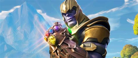 fortnite  patch deployed adds thanos infinity gauntlet