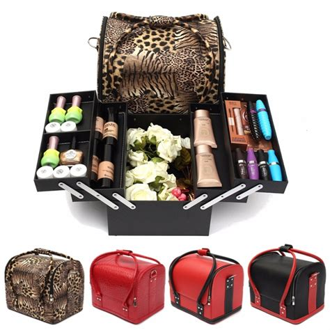 shoes travel organizer storage bag professional large cosmetic organizer box make up