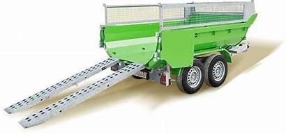 Muldy 3500 Cargo Galabau Weber Stahl Kipper