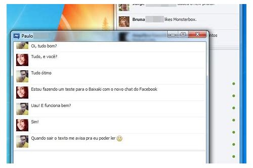 facebook chat messenger baixar para o xp softonic