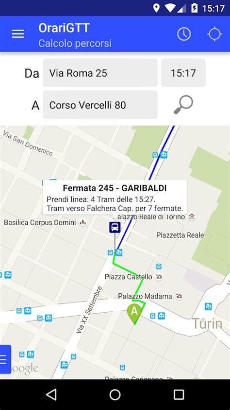 gtt torino orari uffici orari gtt trasporti torino app android su play
