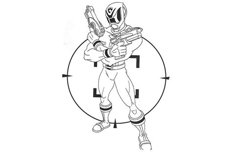 Top 35 Free Printable Power Rangers Coloring Pages Online