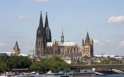 Cologne Cathedral Still Stands Proudly On The Bombing Of