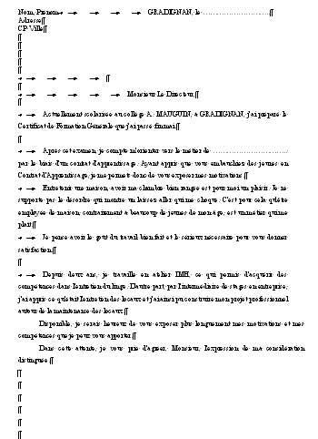 contrat d apprentissage cuisine lettre de motivation pour apprentissage exemple lettre de