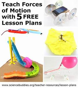 5 Stem Lesson Plans To Teach Forces Of Motion