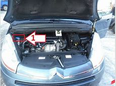 Citroën Grand C4 Picasso 20062013 Where is VIN Number