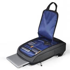 Slim Water Repellent Laptop Backpack | DudeIWantThat.com