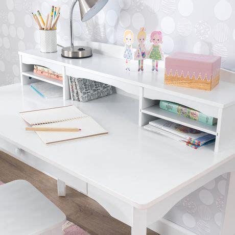 Kidkraft Avalon Desk With Hutch by Kidkraft White Avalon Desk With Hutch Walmart Canada