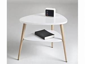 Table De Nuit Blanche : 50 tables de chevet pour tous les styles elle d coration ~ Teatrodelosmanantiales.com Idées de Décoration