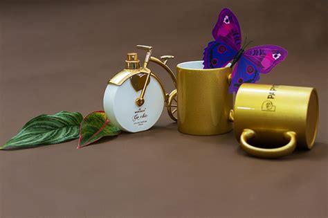 pearl mug gold jamphoto