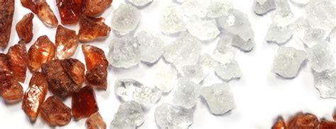 pure sugar crystals  green head