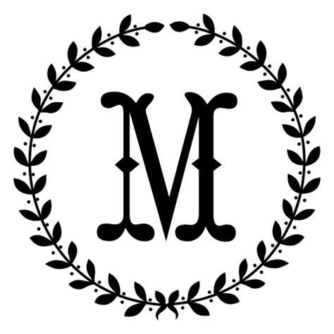 wreath monogram  designs