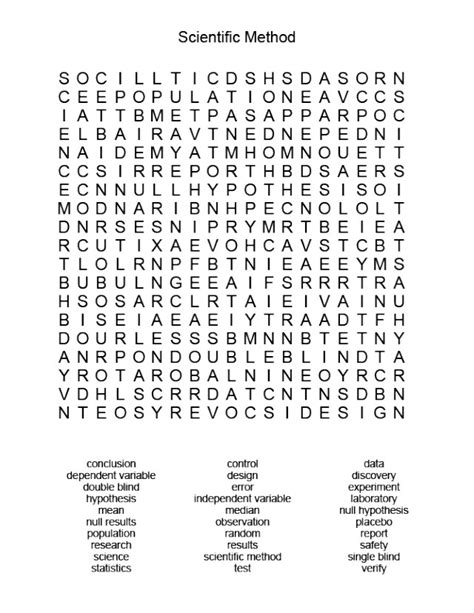 21 knowledgeable science word search baby love