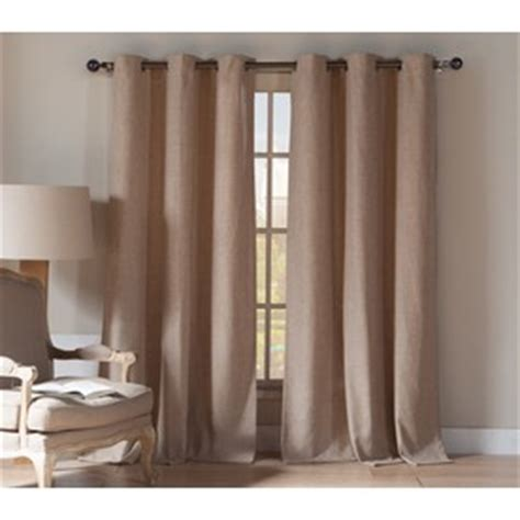 duck river window curtains shop duck river textile 84 in wheat polyester grommet