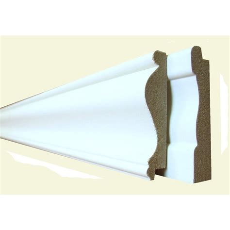 trim at home depot 8 ft mdf cape cod trim pack 4 piece 8203040 the home depot