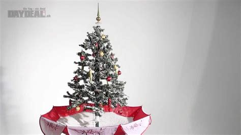 weihnachtsbaum mit schneefall effekt youtube