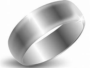 silver ring clip at clker vector clip