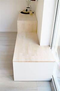 Ikea Sideboard Holz : do it yourself aus besta und holz wird ein sideboard mit sitzbank ~ Eleganceandgraceweddings.com Haus und Dekorationen