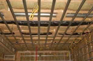 Sheetrock Ceiling Tiles Home Depot by Semi Soundproofing Basement Ceiling Gearslutz Pro Audio