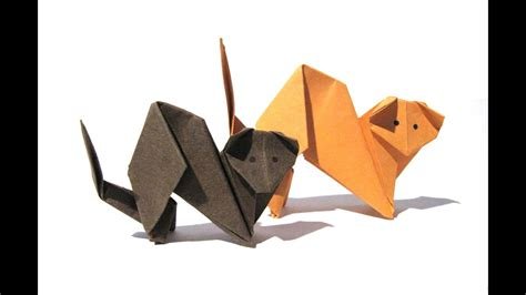 halloween origami cat easy origami tutorial