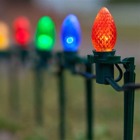 christmas lights  multicolor christmas led pathway lights