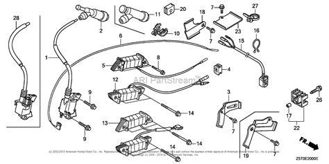 honda engines gx390ut2 qae2 engine tha vin gcbct 1000001 parts diagram for ignition coil 1