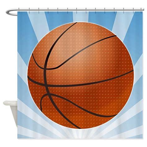 basketball shower curtain basketball shower curtain by sportsnuts