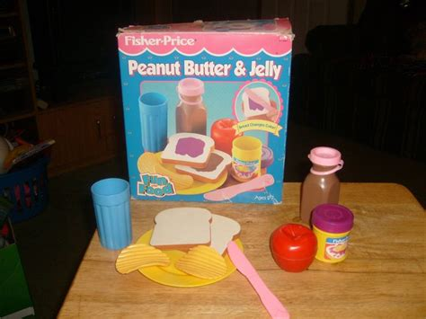 cuisine fisher price bilingue vintage fisher price peanut butter jelly set with food