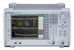 Softwareoptionen F U00fcr Signalanalysator Von Anritsu