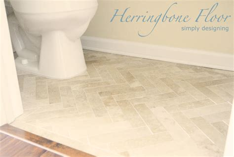 images of bathroom floors herringbone tile floor how to prep lay and install