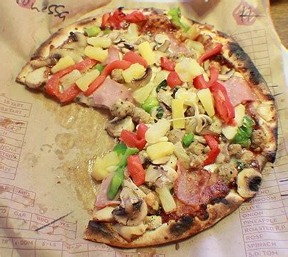 cuisine mod鑞e food mod pizza the closer friendlier alternative to pieology el estoque