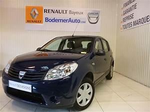 Occasion Dacia : voiture occasion dacia sandero 1 2 16v 75 eco2 ambiance 2010 essence 14400 bayeux calvados ~ Gottalentnigeria.com Avis de Voitures