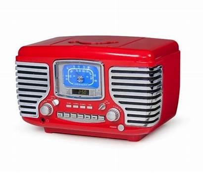 Clock Radio Alarm Cd Novelty Player Led