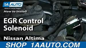 How To Install Replace Egr Control Solenoid 1998