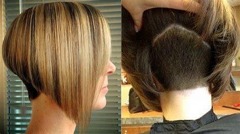 Short Nape Haircuts Nape Shave Hair Cut Women Youtube
