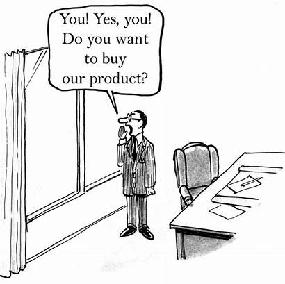 Cartoon Marketing Strategy Decisions Buying Disc Types