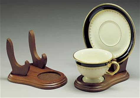 cup  saucer holders wood elevated tea cup  plate stand tea cup  saucer stands cup
