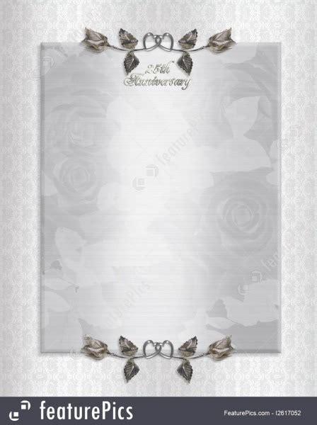 Wedding Anniversary Invitations Free Templates