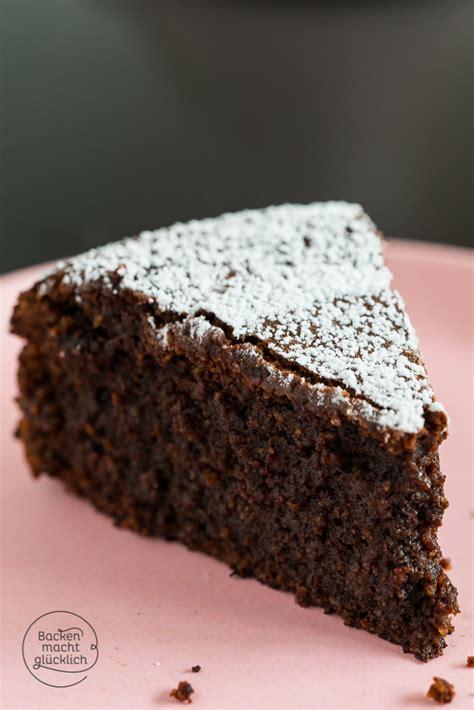glutenfreier kuchen schokoladenkuchen ohne mehl backen macht glücklich