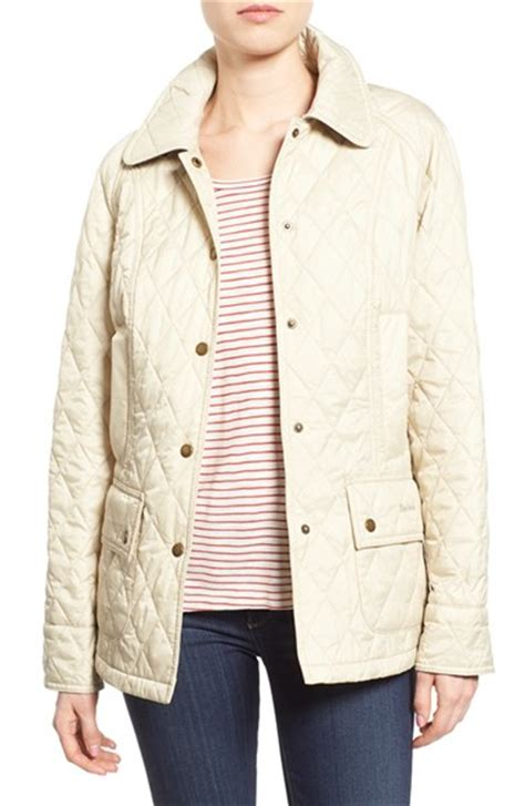 barbour beadnell quilted jacket barbour beadnell summer quilted jacket in lyst
