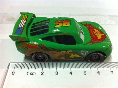 Mattel Disney Pixar Cars Green Lightning Mcqueen Diecast