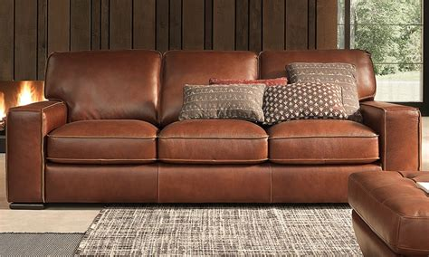 Top Sofas by Natuzzi Cbell Top Grain Leather Sofa Haynes Furniture