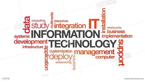 information technology stock animation 1139778