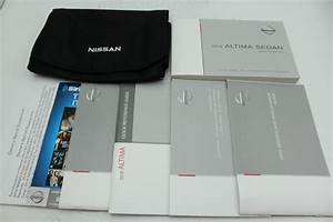 16 Nissan Altima Sedan Vehicle Owners Manual Handbook