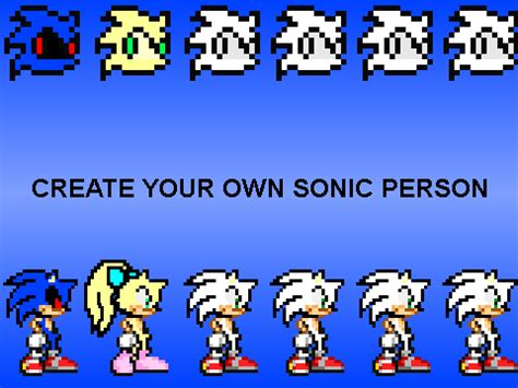 design your own person create your own sonic person remix remix remix on scratch