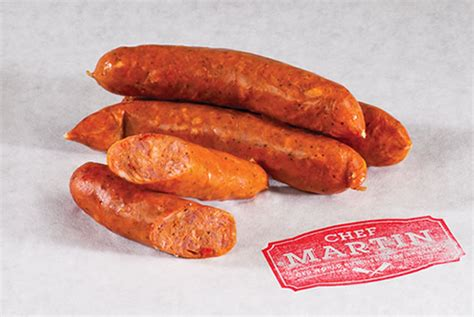 Chef Martin Old World Butcher Shop Sausage  Food Service