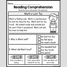 Free Reading Comprehension Passages  Summer Review  Teaching English Pinterest