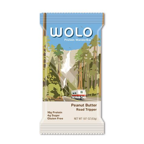 Amazon.com : WOLO WanderBar, Cocoa Crunch, 12 Bars, All